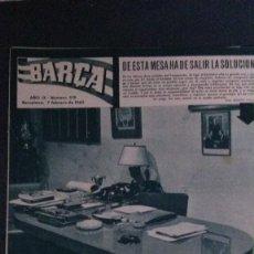 Coleccionismo deportivo: REVISTA BARÇA 376-1963. Lote 101222763