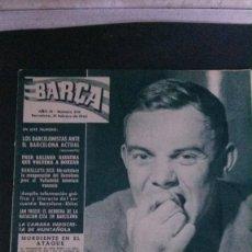 Coleccionismo deportivo: REVISTA BARÇA 378-1963. Lote 101222967