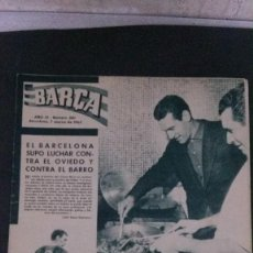 Coleccionismo deportivo: REVISTA BARÇA 380-1963. Lote 101223163