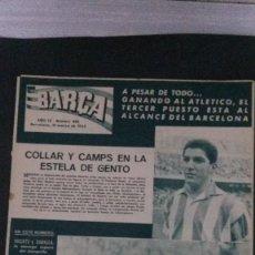Coleccionismo deportivo: REVISTA BARÇA 382-1963. Lote 101223335