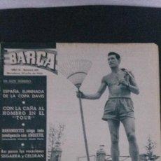 Coleccionismo deportivo: REVISTA BARÇA 400-1963. Lote 101224047