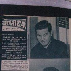Coleccionismo deportivo: REVISTA BARÇA 419-1963. Lote 101224231