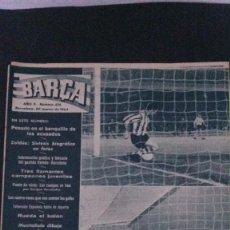 Coleccionismo deportivo: REVISTA BARÇA 434-1964. Lote 101225967