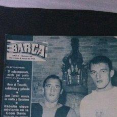 Coleccionismo deportivo: REVISTA BARÇA 441-1964. Lote 101226379