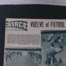 Coleccionismo deportivo: REVISTA BARÇA 459-1964. Lote 101226507