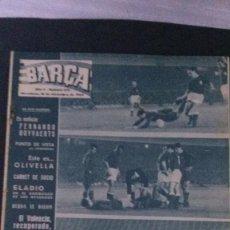 Coleccionismo deportivo: REVISTA BARÇA 473-1964. Lote 101226591
