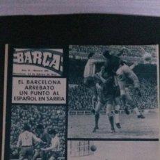 Coleccionismo deportivo: REVISTA BARÇA 484-1965. Lote 101227187