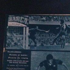 Coleccionismo deportivo: REVISTA BARÇA 489-1965. Lote 101227403