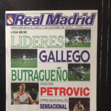 Coleccionismo deportivo: REVISTA REAL MADRID. N 458. COPA EUROPA. PÓSTER PETROVIC. Lote 103004866