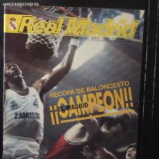 Coleccionismo deportivo: REVISTA REAL MADRID.N 407. CAMPEÓN DE LA RECOPA BALONCESTO. Lote 103005218