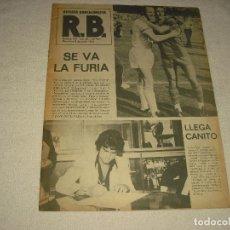 Coleccionismo deportivo: R.B. REVISTA BARCELONISTA Nº 449 .1979. Lote 103147495