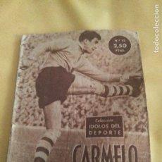 Collectionnisme sportif: COLECCION IDOLOS DEL DEPORTE 15 CARMELO. Lote 103279739