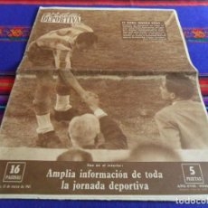 Coleccionismo deportivo: VIDA DEPORTIVA Nº 809. 13-3-1961. 5 PTS. EN SARRIÁ OCURREN COSAS..... BUEN ESTADO.. Lote 103393191