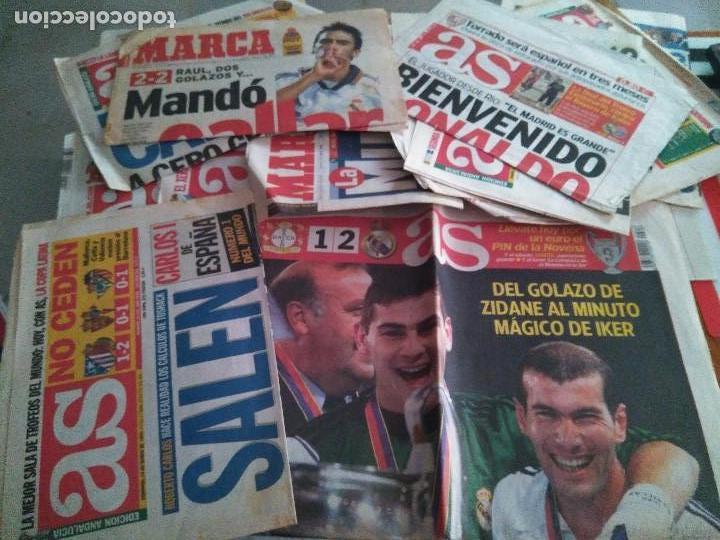 PORTADAS DIFERENTES MOMENTOS REAL MADRID CHAMPIONS INTERCONTINENTAL (Coleccionismo Deportivo - Revistas y Periódicos - otros Fútbol)