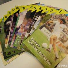 Coleccionismo deportivo: HISTORIA VIVA DEL VALENCIA CLUB DE FUTBOL. COLECCIÓN COMPLETA DE 23 FASCICULOS MUY BUEN ESTADO. Lote 103445447