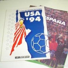 Coleccionismo deportivo: COPA DEL MUNDO DE FUTBOL USA 1994, COMPLETO CON LOS 9 FASCICULOS LAS PROVINCIAS. Lote 103450379