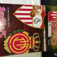 Coleccionismo deportivo: PROGRAMA FUTBOL ( NO ENTRADA ) SEVILLA FC MALLORCA 22-10-2012. Lote 103503251