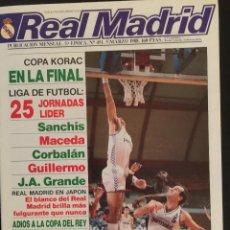 Coleccionismo deportivo: REVISTA REAL MADRID. Nº 451. COPA EUROPA. BAYERN MUNICH, 3 - REAL MADRID,2. Lote 103647875