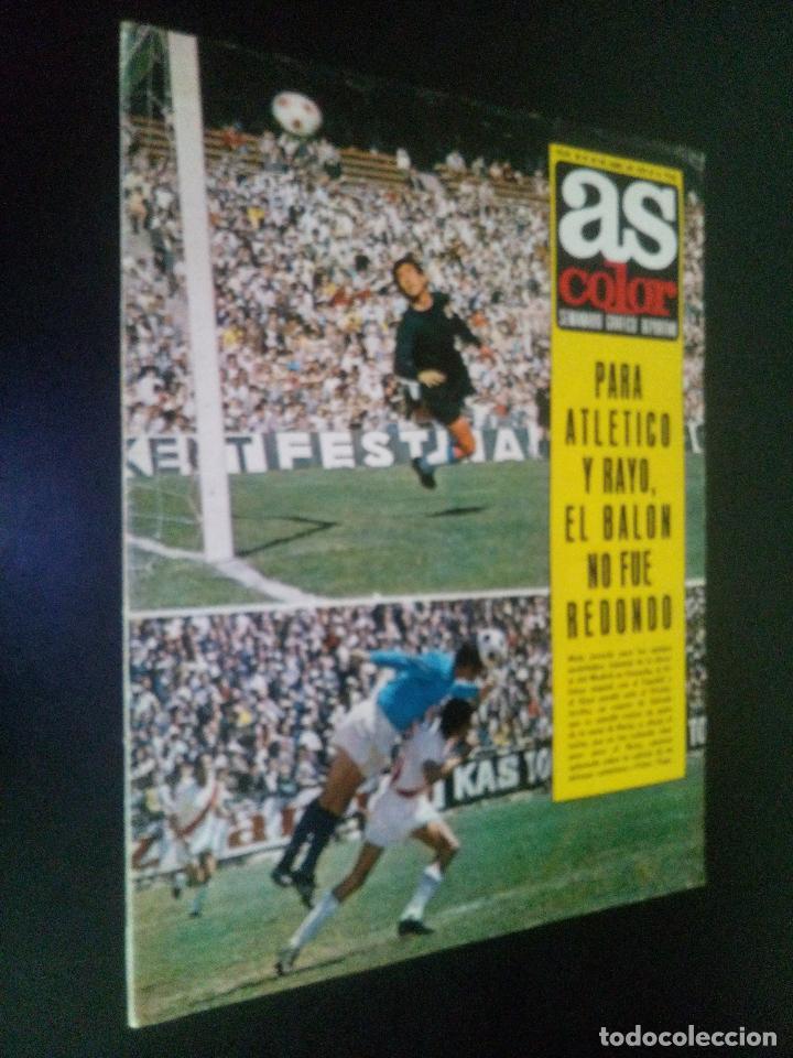 AS COLOR Nº 48 18-4-1972 / REAL VALLADOLID DEPORTIVO 1971-72 (Coleccionismo Deportivo - Revistas y Periódicos - otros Fútbol)
