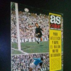 Coleccionismo deportivo: AS COLOR Nº 48 18-4-1972 / REAL VALLADOLID DEPORTIVO 1971-72. Lote 103938131