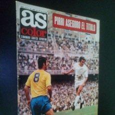 Coleccionismo deportivo: AS COLOR Nº 47 11-4-1972 / RACING DE FERROL 1971-72. Lote 103938251