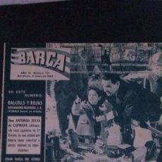 Coleccionismo deportivo: REVISTA BARÇA 371-1963 COMPARTIR LOTE. Lote 104288947