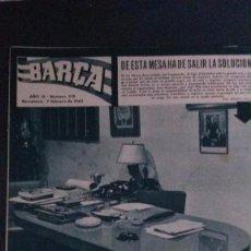 Coleccionismo deportivo: REVISTA BARÇA 376-1963 . Lote 104288987