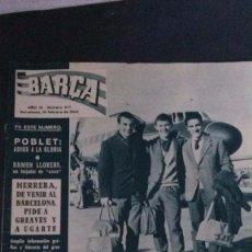 Coleccionismo deportivo: REVISTA BARÇA 377-1963 . Lote 104289011