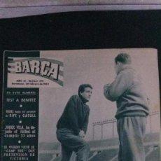 Coleccionismo deportivo: REVITA BARÇA 379-1963. Lote 104289079