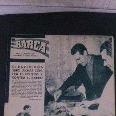 Coleccionismo deportivo: REVISTA BARÇA 380-1963. Lote 104289119