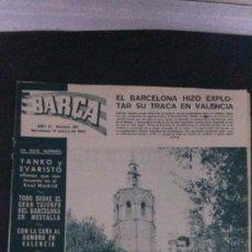 Coleccionismo deportivo: REVISTA BARÇA 381-1963. Lote 104289231