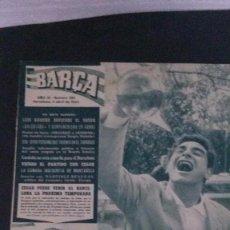 Coleccionismo deportivo: REVISTA BARÇA 384-1963 . Lote 104289307