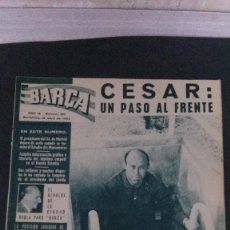 Coleccionismo deportivo: REVISTA BARÇA 385-1963. Lote 104289343