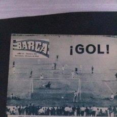 Coleccionismo deportivo: REVISTA BARÇA 395-1963. Lote 104289367