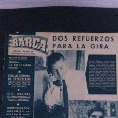 Coleccionismo deportivo: REVISTA BARÇA 397-1963. Lote 104289415
