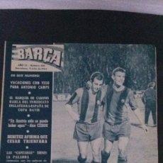 Coleccionismo deportivo: REVISTA BARÇA 398-1963 . Lote 104289443