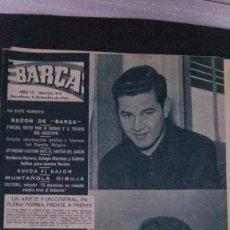 Coleccionismo deportivo: REVISTA BARÇA 419-1963. Lote 104289579