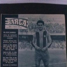 Coleccionismo deportivo: REVISTA BARÇA 432-1964. Lote 104289723