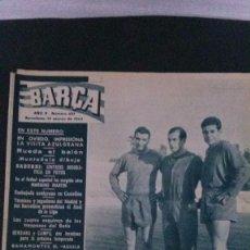 Coleccionismo deportivo: REVISTA BARÇA 433-1964 . Lote 104289803