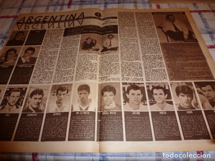 Coleccionismo deportivo: DICEN(4-2-66)CARRASCO(BOXEO)MAURI(SABADELL)MANCHESTER UTD.ANTES ACCIDENTE AEREO,ARGENTINA FUTBOL - Foto 3 - 104896755