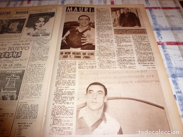 Coleccionismo deportivo: DICEN(4-2-66)CARRASCO(BOXEO)MAURI(SABADELL)MANCHESTER UTD.ANTES ACCIDENTE AEREO,ARGENTINA FUTBOL - Foto 6 - 104896755