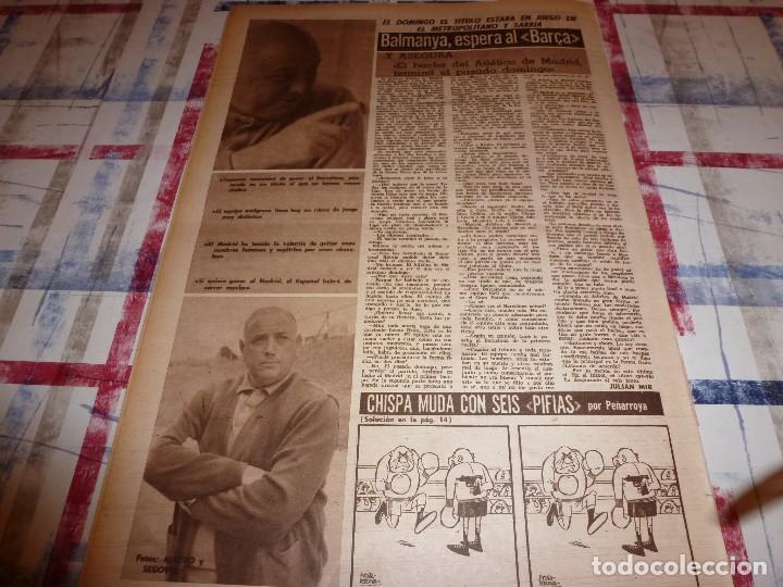 Coleccionismo deportivo: DICEN(4-2-66)CARRASCO(BOXEO)MAURI(SABADELL)MANCHESTER UTD.ANTES ACCIDENTE AEREO,ARGENTINA FUTBOL - Foto 7 - 104896755
