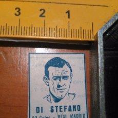 Coleccionismo deportivo: RECORTE FOTO FUTBOL JUGADOR AÑOS 50/60 - GOLEADORES - DI STEFANO REAL MADRID. Lote 108559712
