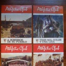 Coleccionismo deportivo: ATHLETIC CLUB AÑO 1982 A 1984 REVISTA Nº 1, Nº 2,Nº 3 Nº 4 GABARRA CAMPEÓN LIGA COPA HOMBROS PUEBLO. Lote 105349563