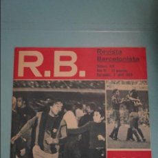 Coleccionismo deportivo: REVISTA DE FÚTBOL F.C BARCELONA RB Nº 418 AÑO 1973. Lote 105793875