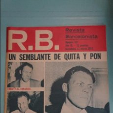 Coleccionismo deportivo: REVISTA DE FÚTBOL F.C BARCELONA RB Nº 417 AÑO 1973. Lote 105793919