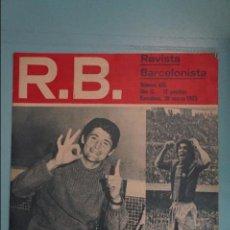 Coleccionismo deportivo: REVISTA DE FÚTBOL F.C BARCELONA RB Nº 416 AÑO 1973. Lote 105793939