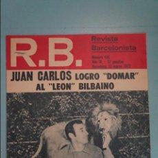 Coleccionismo deportivo: REVISTA DE FÚTBOL F.C BARCELONA RB Nº 415 AÑO 1973. Lote 105794267
