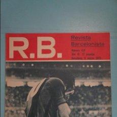 Coleccionismo deportivo: REVISTA DE FÚTBOL F.C BARCELONA RB Nº 414 AÑO 1973. Lote 105794299