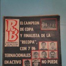 Coleccionismo deportivo: REVISTA DE FÚTBOL F.C BARCELONA RB Nº 214 AÑO 1973. Lote 105794391